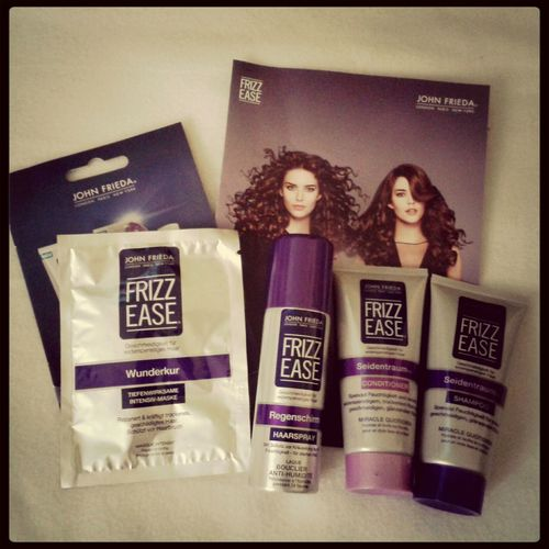 Produkttest :) Frizz Ease Johnfrieda Happy