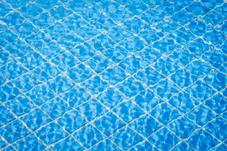 Swimming pool with blue water detail Abstract Abstract Backgrounds Backgrounds Blue Blue Background Clean Close-up Day Extreme Close-up Flooring Full Frame Indoors  Luxury Nature No People Pattern Pool Pulse Trace Swimming Pool Textured  Textured Effect Tile Tiled Floor Turquoise Colored Water