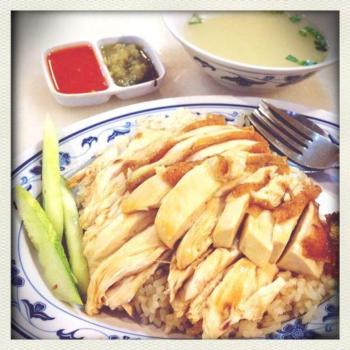 Seven heaven! $7 chicken rice.