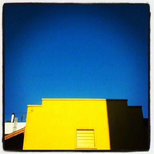 Yellow Blue Street Grenoble