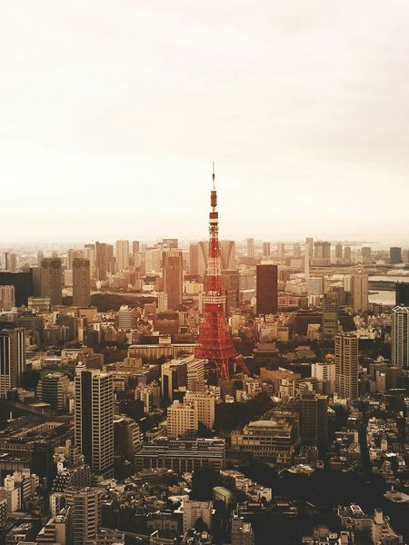 Tokyo tower Tokyo Tokyo,Japan Tokyo Tower Tokyotower Tokyo Street Photography Tokyo Days Japan ASIA Capital Cities  Architecture_collection City City Life Cityscapes City View  High Angle View Birds Eye View Pmg_tok