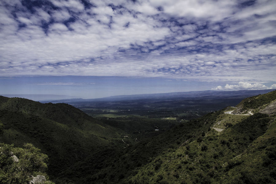 Sierra de Cosquín, Córdoba, Argentina Travel Photography Traveling Argentina Beauty In Nature Canon Cloud - Sky Cosquin Day Landscape Mountain Mountain Range Nature No People Outdoors Scenics Sky Tranquil Scene Tranquility Travel Destinations