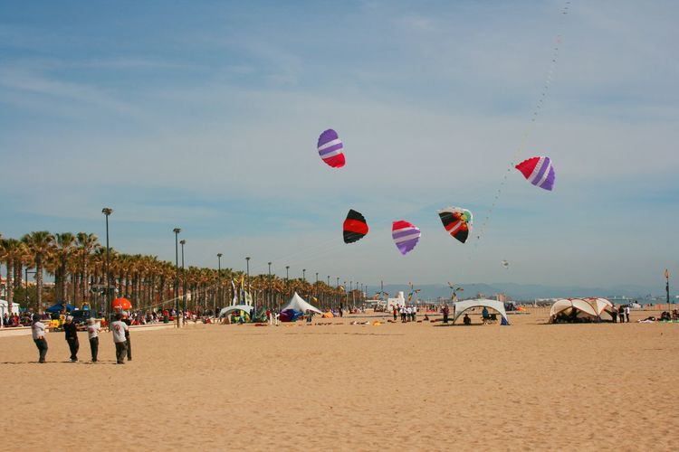 Kite masters are also called PILOTS. And they really are. Beach Beach Sports Cometas Flying Kite Festival Kites Large Group Of People Leisure Activity Lifestyles Outdoors Pilots Sand Sky Vacations Weekend Activities Multi Colored Mid-air Kites In The Sky Kites Flying Kite Festival Valencia Kite In The Sky Teamwork Beach Activities Enjoyment Lost In The Landscape