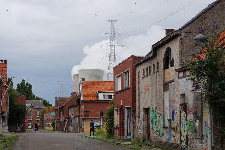 Doel Belgium Doel België Graffiti Industry Ghost Town