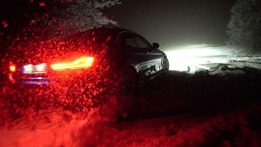 Drift Car Snow