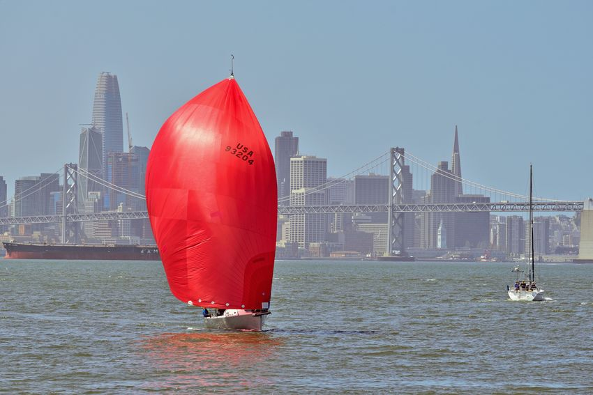 Sailing Middle Harbor 12 Port Of Oakland,Ca. Middle Harbor The Color Of Sport Sailing Sailboats Racing Tacking San Francisco Bay Cityscape San Francisco Skyline Skyscrapers Waterfront♥ Bay Bridge Freighter Sports Photography Urban Photography Bridge Towers & Span Riding The Winds People On Board Teamwork Enjoying Life A Day On The Bay City Urban Skyline Water Modern Red Sea Financial District  Office Building