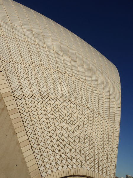 Architecture Clear Sky Detail Of  Futuristic Sydney Opera House Travel Destinations