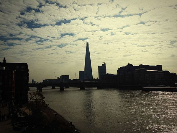 Architecture Built Structure Building Exterior Skyscraper City River Travel Destinations Cloud - Sky Sky Cityscape Urban Skyline Modern Water No People Outdoors Day EyeEmbestshots Low Angle View My Point Of View My Passion ❤ Travel Photography United Kingdom My Photography Blackfriars My Best Photo 2017