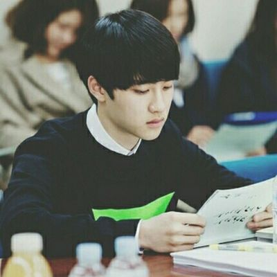 | 140502 | 'It's Alright, It's Love' drama script reading . D.O is EMOing lol That sweater tho Last time at Starry Night(radio) with Suho . || Kyungsoo Dokyungsoo 都暻秀 嘟嘟 도경수 디오 exok exo exom exotic 엑소 xenpais EXOsmine smpackofwolves exodaebakkk kyungsooish ||