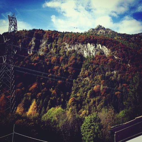 After summer.. Autumn Colors Of Autumn Mountains Mountain