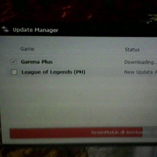 Update LOL Garena
