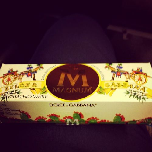 When Dolcé &Gabbana dose Icecream then it's the best ever Mytreat for the Weekend ??????