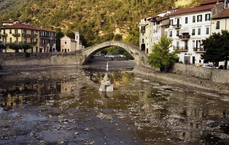 Dolceacqua Film Photography Reflections Medieval Rock Village Dolceacqua Riflessi Acqua Water Reflection EyeEmNewHere