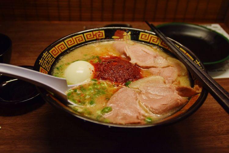 Best bowl of ramen in Japan First Eyeem Photo Ramen Japan Tokyo Shinjuku Food DSLR Nikon Photography