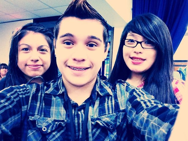 With The Twins :)
