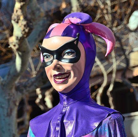 Trobada de Gegants a Salou Gegants I Nanos Gegants Mask - Disguise Portrait Costume Arts Culture And Entertainment Looking At Camera One Person Face Paint