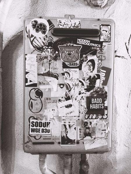 Sticker Streetphotography Streetphoto_bw Street Streetart Street Photography Blackandwhite Black And White OpenEdit Popular Photos