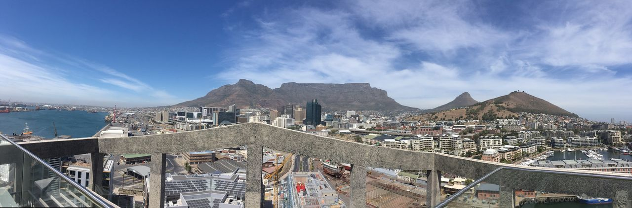 Cape Town's new hilight - The Silo Hotel with its stunning roof top bar The Silo Mocca Skyline Cape Town Rooftop Topbarsoftheworld South Africa Built Structure