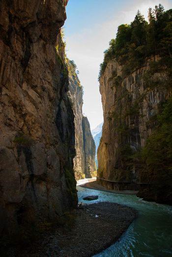river deep Water Light And Shadow Light Beauty In Nature Canyon Mountain Nature Outdoors River Rock Formation Scenics