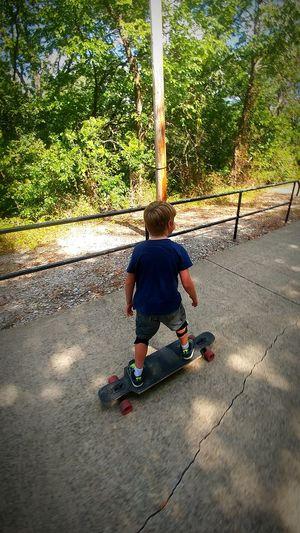 Fatherhood Moments Longboard Boy OklahomaStrong Mobile_photographer LikeABOSS