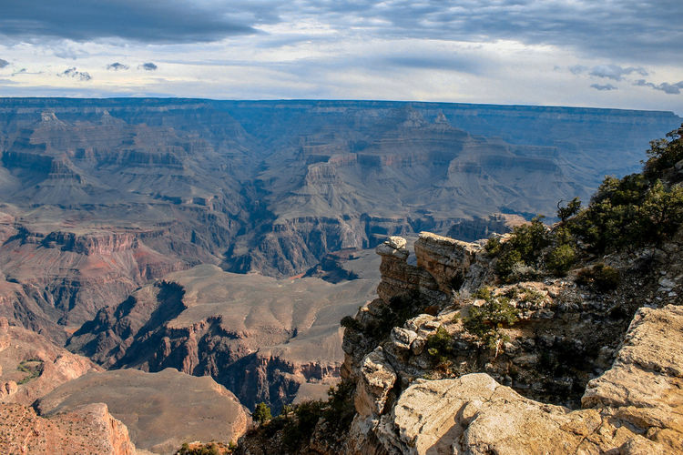Canyon Scenics - Nature Beauty In Nature Rock Landscape Mountain Rock - Object Environment Rock Formation Non-urban Scene Tranquil Scene Solid Nature Tranquility Physical Geography Sky Mountain Range High Angle View Travel Destinations Cloud - Sky Day