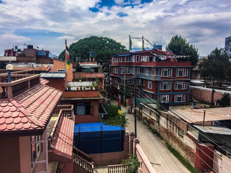 Nepal Nepal #travel Nepal Travel Kathmandu Kathmandu, Nepal Houses Colorful Houses Culture Nepali