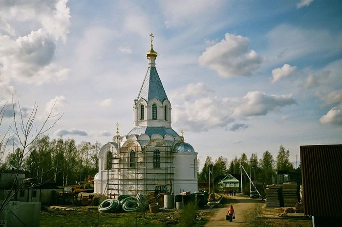 35mm Film Russia Kodakektar100 Filmphotography Film Photography Church Churches Road