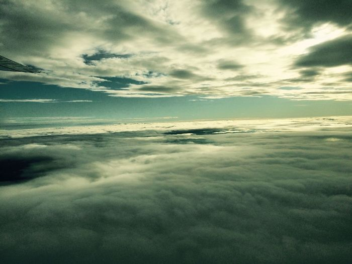 Clouds And Sky Starting A Trip Juina Matogrosso From A Airplane Window Sky My Best Photo 2014