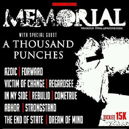 Victimofchange Show // 07 september 2013 at safehouse Infogigs Tour