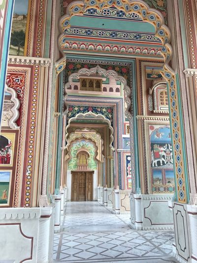 The grand doors of Indian architecture beautiful art and culture Jaipur colourful doors beautiful building 33 EyeEm Selects