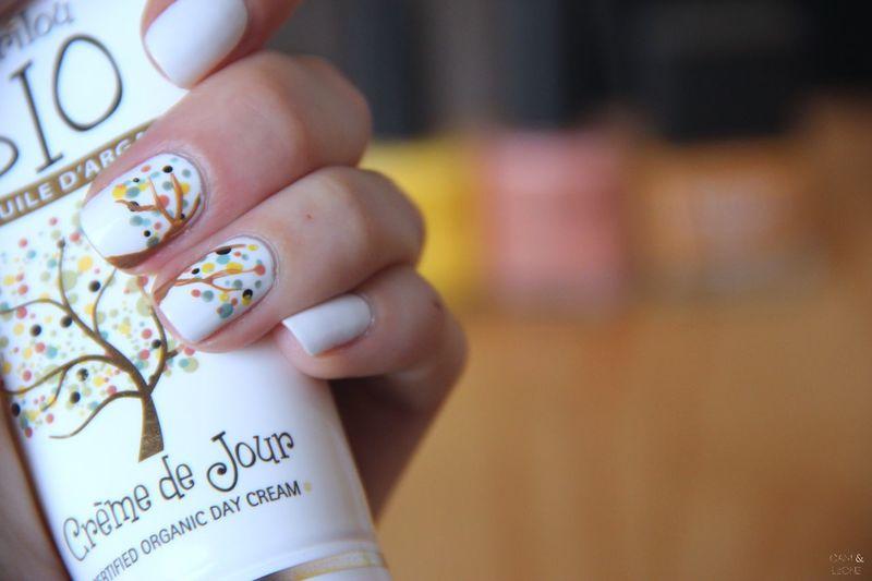 Pour la crème de jour bio Mariloubio Nails Nailart  Cream Cosmetic