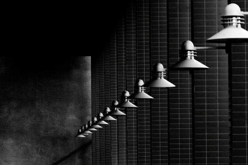Phuket,Thailand Black And White Lamp Posts Lamps