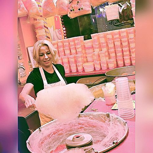My World Of Food Cottoncandy suikerspin Pink! Sugarsweet Holycottoncandy Pink Sugarclouds On A Stick