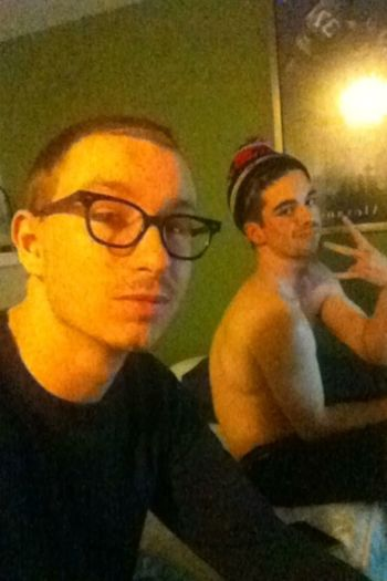 My nigga Nick and I. Chilling Friends YoungAndGettingIt Hmu