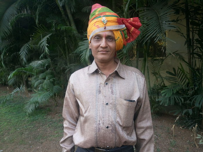 Portrait Of An Indian Man