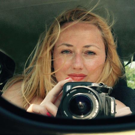 Close-up In The Car Blond Woman Photographer Face Mirrorselfie Car Mirror Car Mirror View Kodak Pictureoftheday EyeEm Best Shots Eyem Photography Red Lips Eyesight Woman Portrait Woman Who Inspire You Woman Power Hobbyphotography Hobby Photography Themes Camera - Photographic Equipment Photographing Technology Photographic Equipment Digital Camera Photographer One Person Front View Headshot Smiling EyeEmNewHere