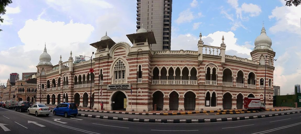 The place in KL that very gorgeous ☺ Merdeka Square Kuala Lumpur Malaysia  CityTour Architecture Madjid Mosque City Sky Sky Building Exterior Cloud - Sky Built Structure