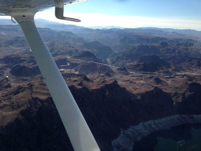 Las Vegas canyon flying