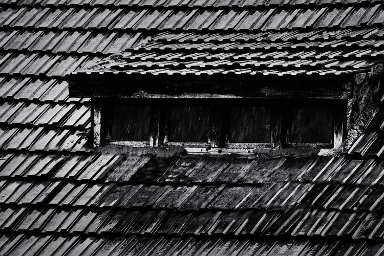 Rain Shield Architecture Built Structure Building Exterior Building Day Pattern Roof No People Abandoned Old Wood - Material Outdoors House Weathered Residential District Wall - Building Feature Corrugated Iron Nature Wall Roof Tile Iron Corrugated Ceiling Sibiu Romania Europe Explore Discover  Travel Rainy Days Rainy Mood Dark Blackandwhite Window Nikon D7500 EyeEm Best Shots EyeEmNewHere EyeEm Nature Lover