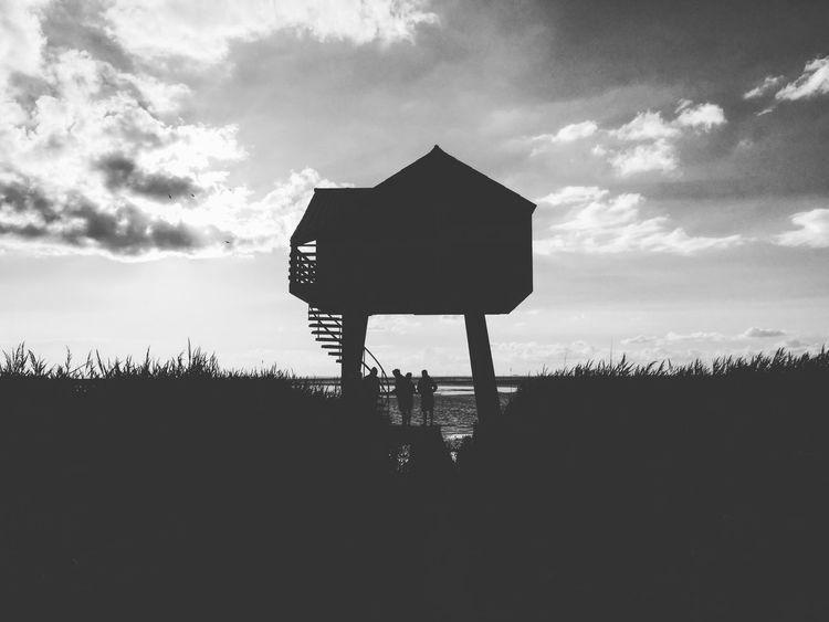...this amazing place... Outdoors Silhouette Architecture Traveling Sea Ocean Sunset Eastfrisia EyeEm Best Shots EyeEm Nature Lover Blackandwhite EyeEm Gallery