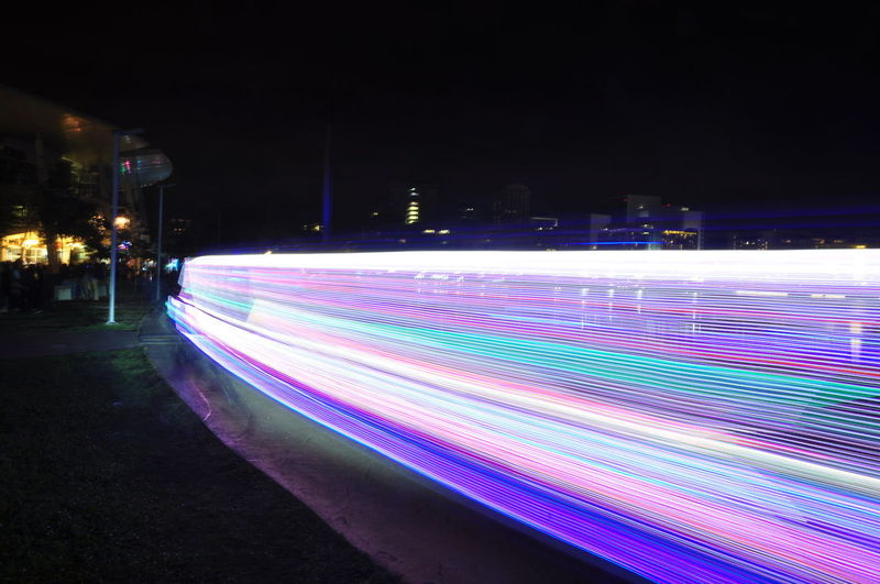 Light trails Slow Shutter Photography Nightphotography City Cyberspace Multi Colored Illuminated Technology Pixelated Light Trail Tail Light Long Exposure Vehicle Light