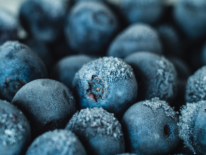 Healthy Breakfast: Close up of frozen blueberries, macro shot, top view Blueberry Breakfast Frozen Food Vegan Fruit Antioxidant Food And Drink Food Full Frame Close-up Freshness Backgrounds No People Wellbeing Indoors  Healthy Eating Large Group Of Objects Selective Focus Berry Fruit Abundance Still Life Textured  Heap Organic Navy Blue Purple Pebble Snack