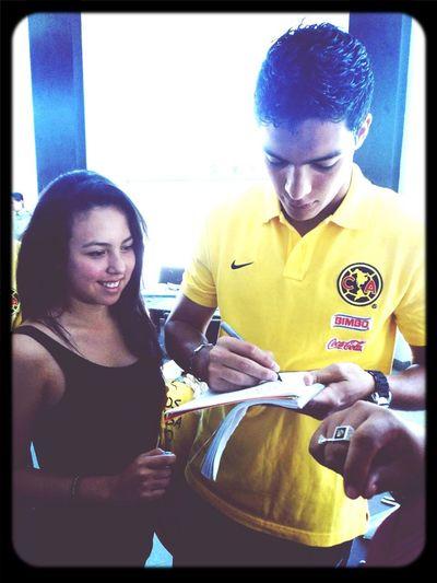 Con amor Raul Jimenez Club America