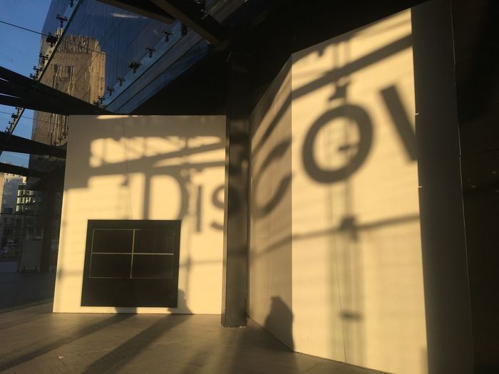 Shadowland Gallery Shadow Sunset Indoors  Architecture Built Structure No People Time Day