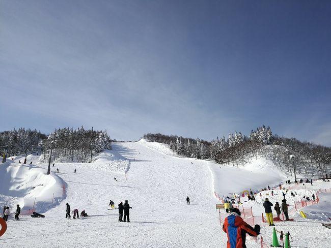 Galayuzawa Snowcapped Mountain Japantravel Japanphotography in Jan 2017