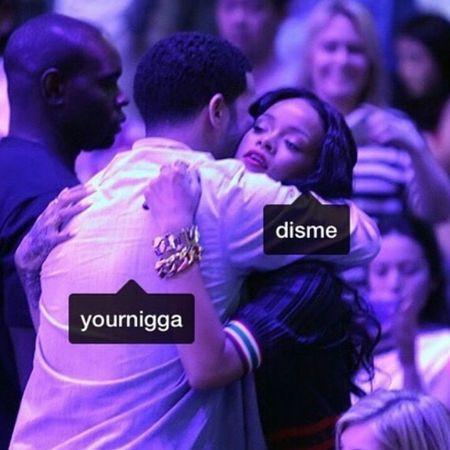 💖💕 Rihanna& Drake  Aesthetics Glow Gorgeous Photography Rihannanavy OVO Drizzydrake Fashion