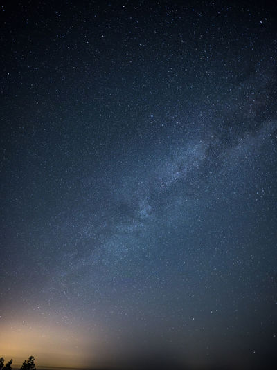 the Galaxy Galaxy Low Angle View Nature Global Communications Night Satellite Space Technology