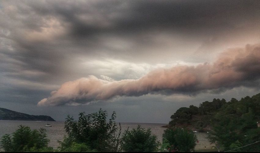 Passage to Oz Spiralclouds Strangeclouds Clouds And Sky Sea Sunset Summer Storm Seascape Cloud - Sky Sky Beauty In Nature Scenics - Nature Water Nature Environment Dramatic Sky Storm Storm Cloud