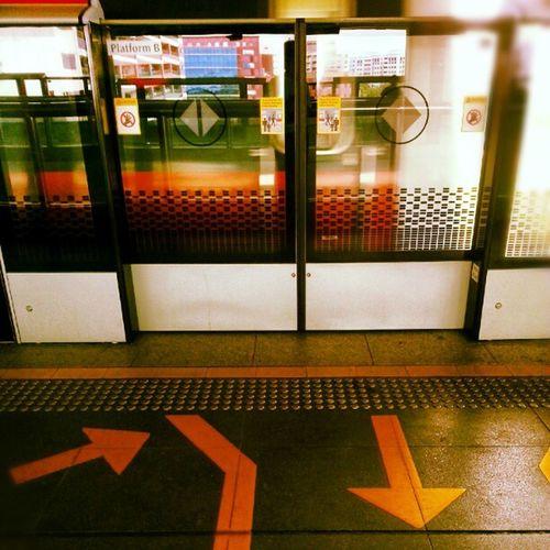 coming into station Instagramsg Instagsg Instasg Sgig Streetphotography Train Singapore Trainstation Mrt Gate Sg Igsg