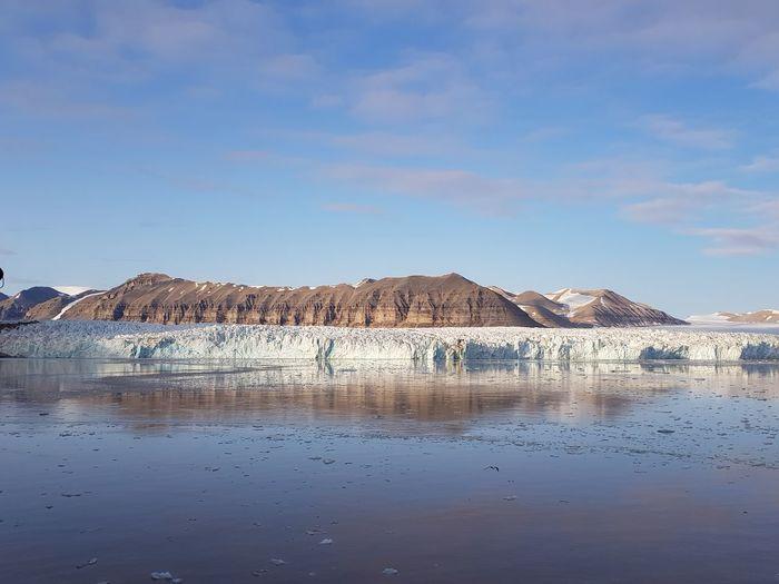 Tunabreen-gletscher